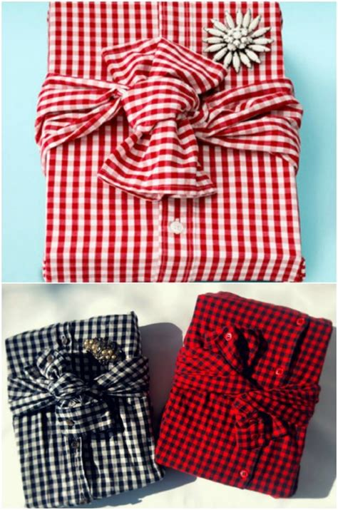 gift wrapping ideas for him diy creative gift wrapping ideas with shirt for him boyfrind