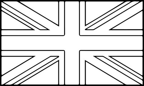 coloring page for england s flag england flag coloring page 18264