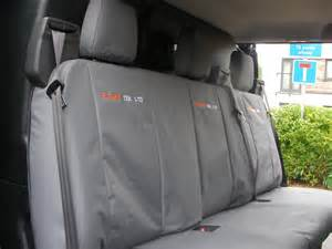 Seat Covers For Transit Custom Vanrobes Ford Transit Custom 2013 On Cab Rear