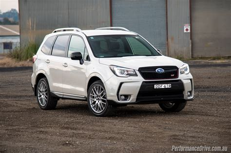 subaru forester 2016 2016 subaru forester ts sti review video performancedrive