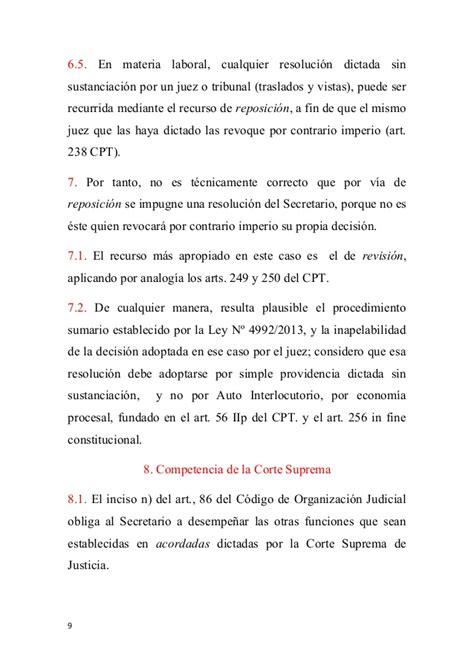 Appointment Letter Que Es Secretario Judicial