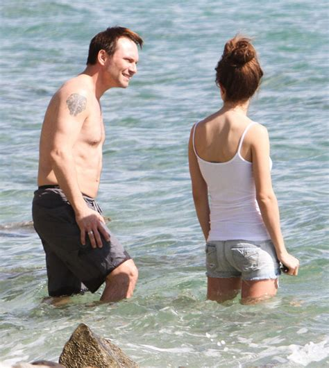 Christian Slater Are Dating by Christian Slater And His Enjoying The Sun In