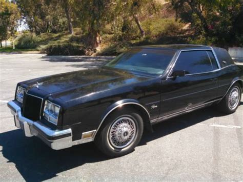 how to sell used cars 1985 buick riviera spare parts catalogs sell used 1985 buick riviera luxury coupe 2 door 5 0l in el toro california united states for