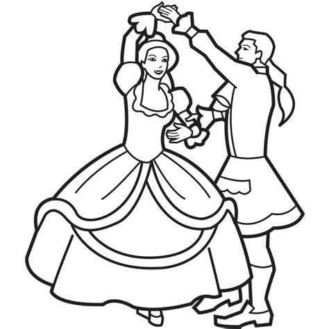 dance coloring page coloring home