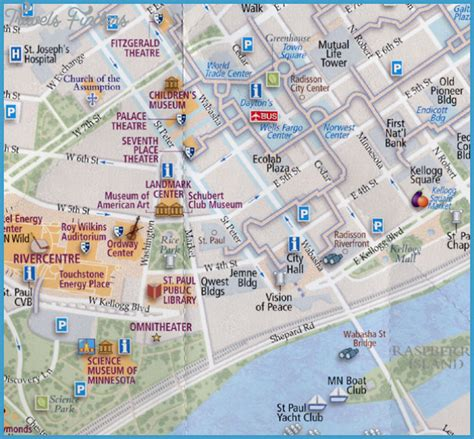 st tourist map minneapolis st paul map tourist attractions