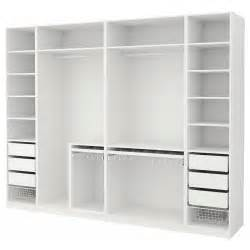 pax wardrobe white 300x58x236 cm ikea