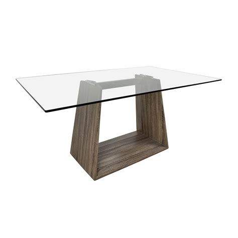 Contemporary Glass Top Dining Tables 40 Bravo Bravo Contemporary Glass Top Dining Table Tables