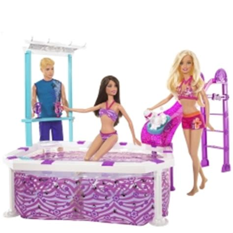 barbie doll house with pool barbie s accessories