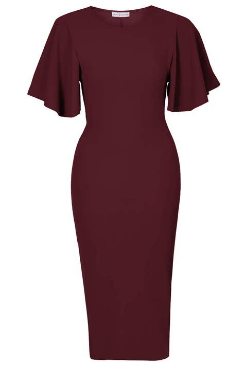 Dress Cape Sleeve 1 cape sleeve midi dress all the dresses