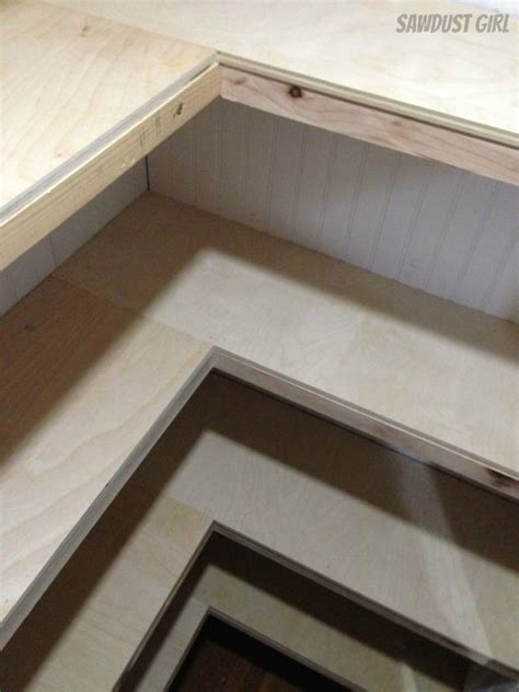 building closet shelves how to build floating shelves sawdust 174