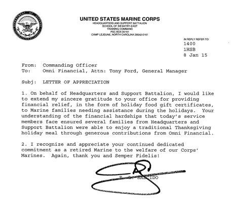Forum Credit Union Brookville Rd usmc endorsement letter format 28 images july 24 1959
