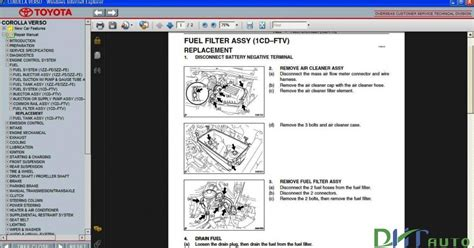 service manual online car repair manuals free 2004 chevrolet monte carlo user handbook free auto repair manuals toyota corolla verso 2004 2005 2006 2007 2008 2009 service repair manual