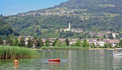 al lago calceranica al lago trentino italy