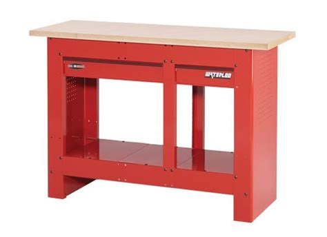 cheap reloading bench waterloo 2 drawer heavy duty work bench color red model