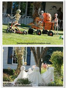 Halloween Yard Decor Ideas Outdoor Decor Halloween Pinterest