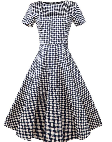 simple gown pattern popular 1950s housewife buy cheap 1950s housewife lots