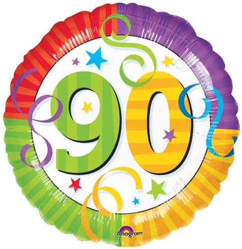 happy 90th birthday 18 quot balloons perfection celebration