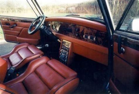 vintage aston martin interior aston martin tickford mini only one ever made mini