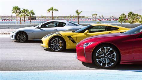 Top Gear Maserati Granturismo by 3 Tenores Chevrolet Corvette Grand Sport Contra Maserati