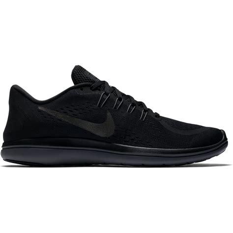 nike mens black running shoes s nike flex 2017 rn black running shoes intersport uk