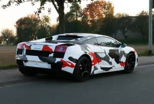 Camo Bugatti Koi Fish Camo On Lambo Gallardo