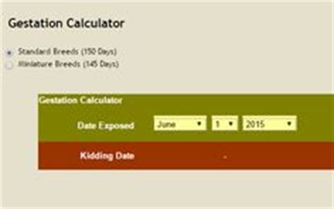 Goat Gestation Table by 1000 Ideas About Gestation Calculator On