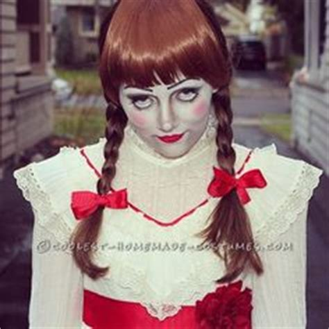 annabelle doll victims frightening diy victim illusion costume walks