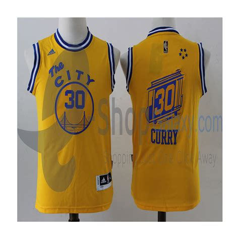 Jersey Basket Nba 52 golden state warriors jersey the city steph curry yellow replica e shop galaxy