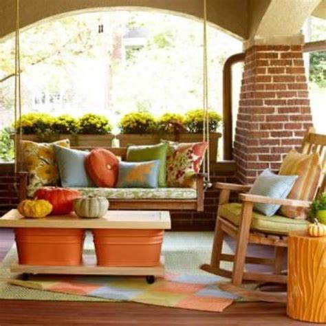 how to decorate a patio 55 cozy fall patio decorating ideas digsdigs