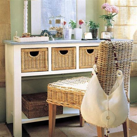 Entryway Table With Baskets 45 Entryway Storage Design Ideas To Try In Your House Keribrownhomes