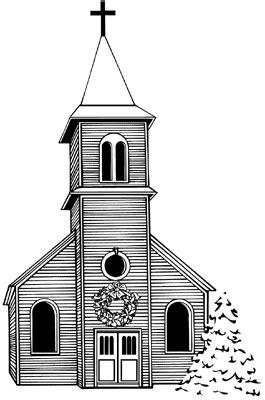 Clip Art - Churches - Master Sunday Bulletins