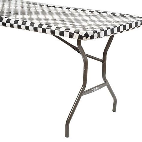 Table Cover Roll by Black White Checkered Table Cover Roll Shindigz