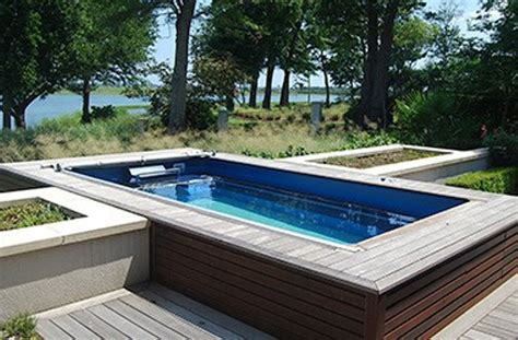 outdoor lap pool the idea of above ground lap pool delightful outdoor ideas