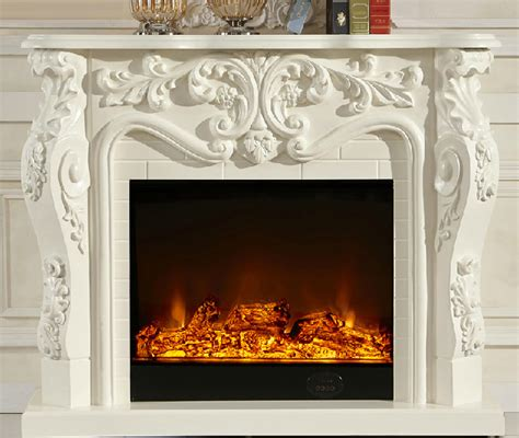 ornamental fireplace decorative fireplace led realistic flame electric
