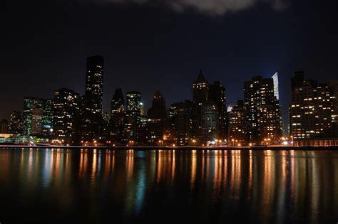 new york photo gratuite new york manhattan usa ny nuit image