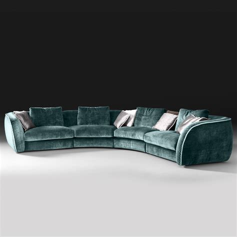 sofa high end high end large velvet modular corner sofa