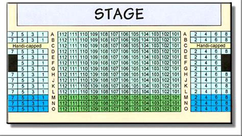 seating directions crighton theatre