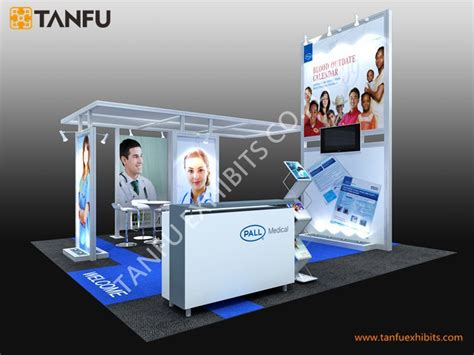 booth design build ltd tanfu 6x6 trade show or expo exhibition booth design view