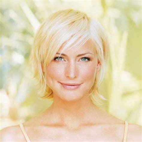 hairstyles short blonde fine hair short straight hairstyles for fine hair short hairstyles