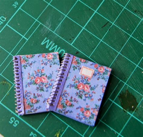 pattern making paper nz 7 insanely adorable diy miniature books and notebooks diy