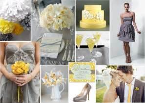 Grey Theme by Pics Photos Yellow Grey Wedding Theme I Love How The