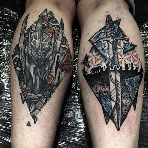 lord of the rings tattoo best 25 lotr ideas on tolkien