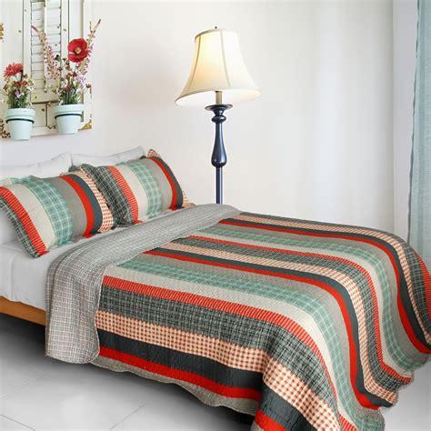 blancho bedding blancho bedding blancho bedding retro stripe cotton 3pc