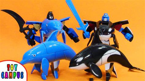 robot killer whale robot war dolphin and killer whale transforming sea