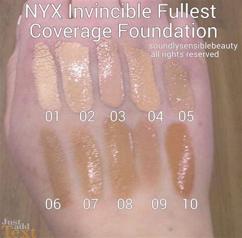 Nyx Invincible Fullest Coverage Foundation Nyx Invincible Fullest Coverage Foundation