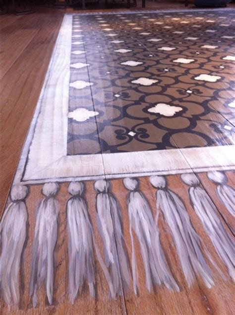 Rug Painted On Floor by 314 Best Images About Stenciled Painted Floors On