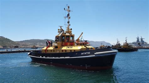centurion boats for sale bc south african navy welcomes new damen atd tug