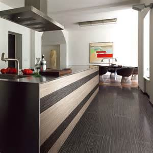 Modern kitchen featuring contrasting rice white w1 amp ebony w5