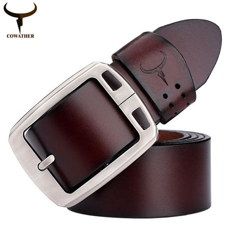 Cowather Brand Vintage Design 100 Genuine Leather Dompet Pria Impor buy wholesale belts for from china belts for