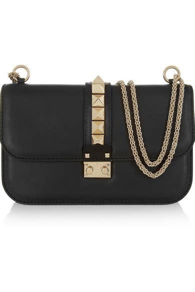 valentino lock medium leather shoulder bag net a porter